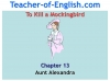 To Kill a Mockingbird (KS3) Teaching Resources (slide 123/229)