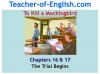 To Kill a Mockingbird (KS3) Teaching Resources (slide 148/229)