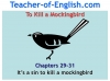 To Kill a Mockingbird (KS3) Teaching Resources (slide 195/229)