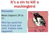 To Kill a Mockingbird (KS3) Teaching Resources (slide 197/229)
