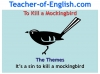To Kill a Mockingbird (KS3) Teaching Resources (slide 211/229)