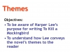 To Kill a Mockingbird (KS3) Teaching Resources (slide 60/229)