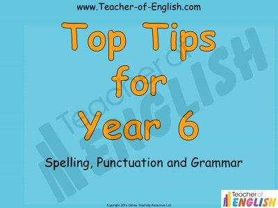 Top Tips for Year 6