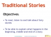 Traditional Stories (slide 3/65)