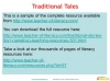 Traditional Tales free sample (slide 10/10)