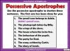 Using the Apostrophe Teaching Resources (slide 6/12)