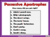 Using the Apostrophe Teaching Resources (slide 8/12)