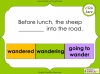 Verb Tenses (slide 61/62)