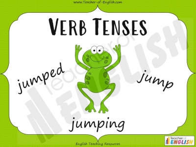 Verb Tenses Teaching Resources