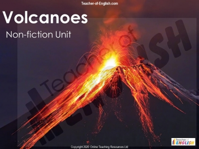 Volcanoes - Non-Fiction Unit