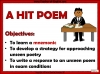 WJEC Comparing Unseen Poetry (slide 10/53)