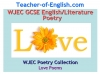 WJEC GCSE Love Poetry Teaching Resources (slide 1/347)