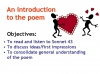 WJEC GCSE Love Poetry Teaching Resources (slide 169/347)