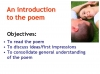 WJEC GCSE Love Poetry Teaching Resources (slide 317/347)