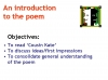 WJEC GCSE Love Poetry Teaching Resources (slide 86/347)