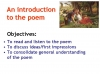 WJEC GCSE Love Poetry Teaching Resources (slide 9/347)