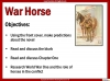 War Horse by Michael Morpurgo Teaching Resources (slide 9/138)