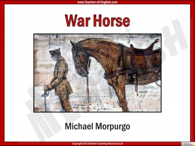 War Horse by Michael Morpurgo Teaching Resources