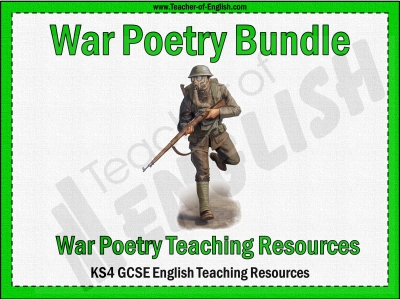 War Poetry Bundle