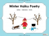 Winter Haiku Poetry (slide 1/44)