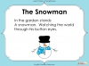 Winter Haiku Poetry (slide 5/44)