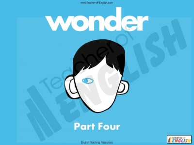 Wonder - Unit of Work Part Four