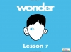 Wonder - Unit of Work Part One Teaching Resources (slide 57/85)