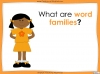 Word Families - Year 3 and 4 Teaching Resources (slide 3/17)