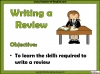 Writing a Review (slide 2/29)