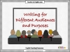 Writing for Different Audiences and Purposes (slide 1/17)