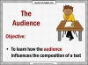Writing for Different Audiences (slide 2/9)