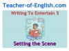 Writing to Entertain Teaching Resources (slide 53/152)