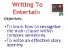 Writing to Entertain Teaching Resources (slide 67/152)