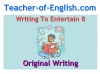 Writing to Entertain Teaching Resources (slide 95/152)