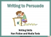 Writing to Persuade Teaching Resources (slide 1/92)