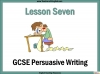 Writing to Persuade (slide 73/80)