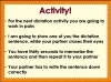 Year 1 Autumn Term Spellings Teaching Resources (slide 13/22)