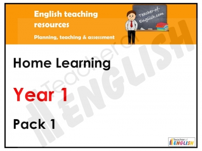 Year 1 Home Learning Pack