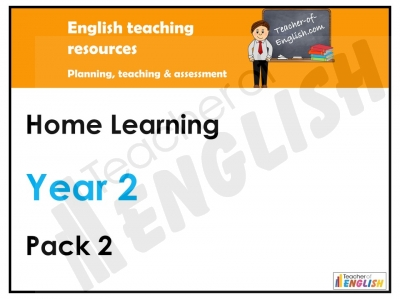 Year 2 Home Learning Pack 2