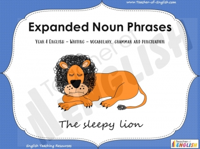 Year 4 - Expanded Noun Phrases