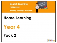 Year 4 Home Learning Pack 2