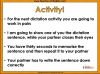 Year 5 and Year 6 Autumn Term Spellings Dictation Teaching Resources (slide 13/40)