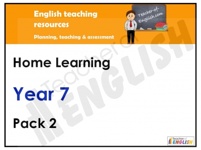 Year 7 Home Learning Pack 2