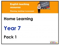 Year 7 Home Learning Pack