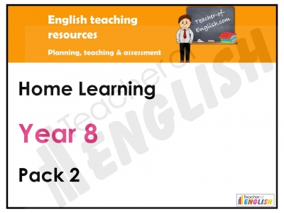 Year 8 Home Learning Pack 2