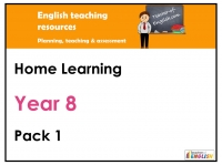 Year 8 Home Learning Pack