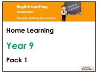 Year 9 Home Learning Pack