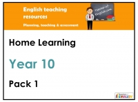 Year Ten Home Learning Pack